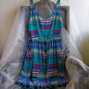 Dolce Vita silk blend tribal print dress Size XSm